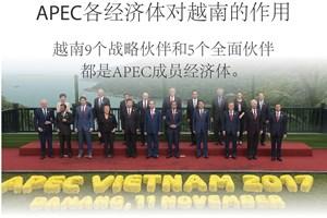 图表新闻:APEC各经济体对越南的作用