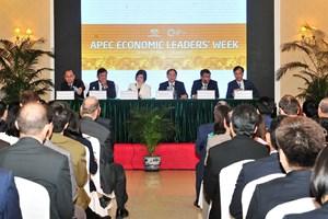 越南向外国驻河内代表处和国际组织通报APEC领导人会议周的结果
