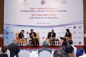 """题为""""国际法与东海""""的第三次海洋事务对话在河内举行"""