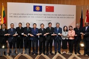 落实《东海各方行为宣言》第15次高官会将在中国湖南举行