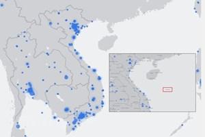 越南政府总理阮春福要求信息传媒部密切跟踪脸谱提供错误地图一事的办理进展