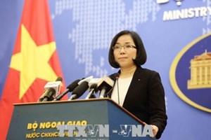 越南要求中国台湾立即停止在巴平岛上的实弹演习
