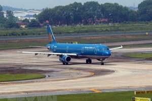 越航派遣专机前往印尼接载越南体育代表团和越南国奥队