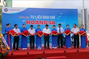 """2018年""""有关黄沙的新闻资料""""展览会在岘港市开幕"""