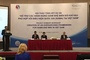NAMA项目有助于协助越南应对气候变化