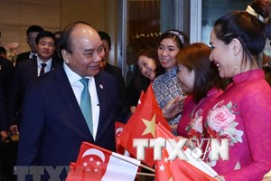 越南政府总理阮春福圆满结束第33届东盟峰会及系列会议之行