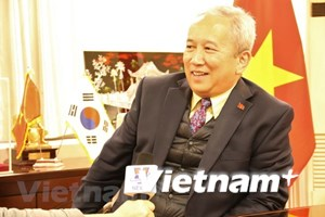越南与韩国在多个领域的合作关系发展强劲