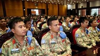 越南二号二级野战医院赴南苏丹执行任务