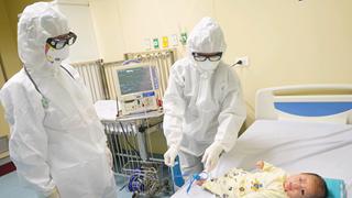 新冠肺炎疫情:三个月大的宝宝已治愈出院
