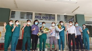 岘港市最后一名新冠肺炎确诊患者治愈出院