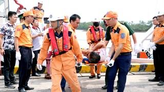 海防市海域上发生撞船事故 致3人伤亡 4人失踪