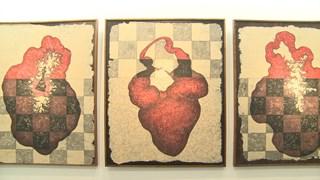'油漆与纸'绘画展    为美术绘画寻找新的材料