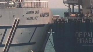 马来西亚轮船与希腊轮船相撞