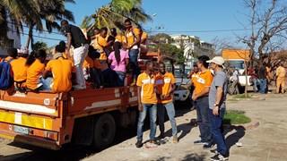 Viettel为莫桑比克台风受灾群众提供50吨粮食援助