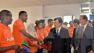 坦桑尼亚与越南关系取得诸多新突破