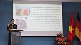 越南全民国防日30周年和越南人民军建军75周年纪念典礼在德国举行