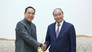 政府总理阮春福会见泰国驻越大使塔尼·桑加特