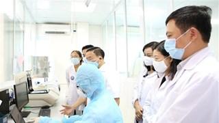 河静省新冠肺炎检测室投入运营   可开展大范围新冠检测工作