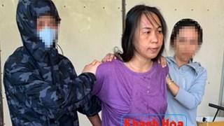 河内公安对涉嫌煽动反对国家罪的两名被告人进行起诉