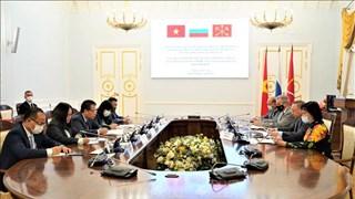 俄罗斯圣彼得堡与越南各地方促进合作