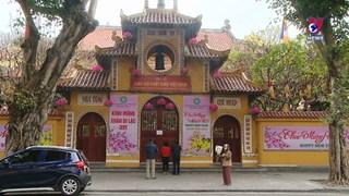 越南各家寺院以线上形式举行祈安法会