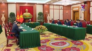 阮富仲总书记与中共中央总书记、国家主席习近平通电话