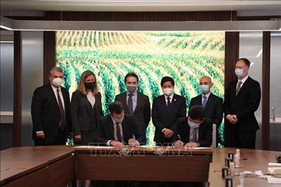 越南与美国加强农业领域合作