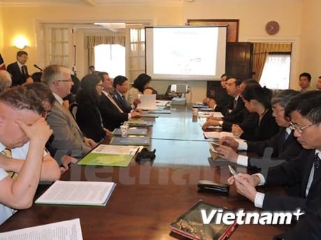 越南永福省呼吁英国投资商对本省投资