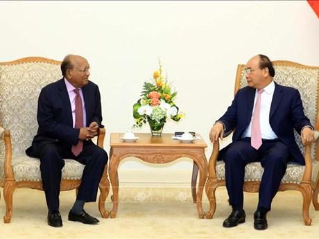政府总理阮春福会见孟加拉国商务部长