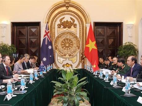 越南与澳大利亚举行第六届国防外交副部长级战略对话