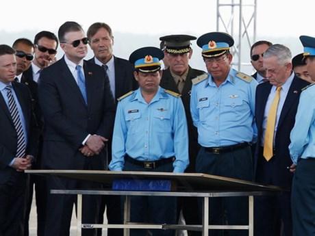 越南与美国加强防务领域的合作