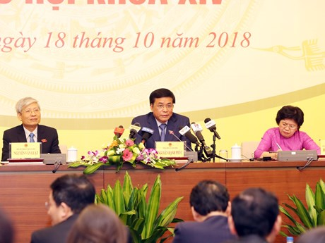 第十四届国会第六次会议将选举产生国家主席和批准CPTPP