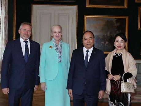 政府总理阮春福出席P4G峰会期间举行的各项活动
