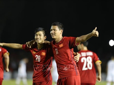 AFF Suzuki Cup 2018:越南队战胜菲律宾队  获国际媒体称赞