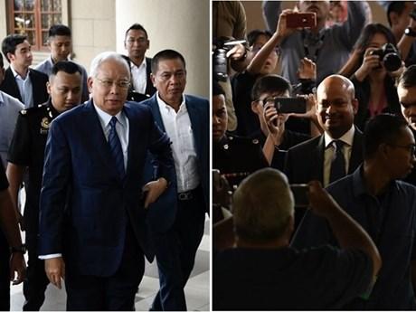 马来西亚前总理纳吉布被指控与1MDB遭删改案有关