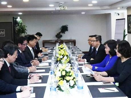 加强胡志明市与日本北海道之间的合作