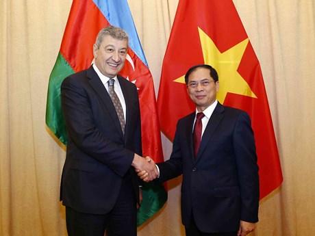 越南外交部与阿塞拜疆外交部举行政治磋商