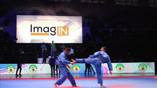 第17届阿尔及利亚全国越武道锦标赛吸引近300名学员参加