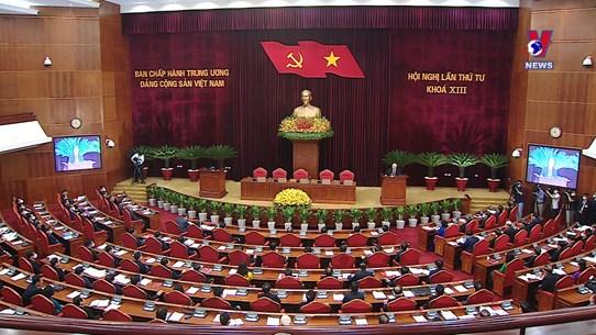"""越共十三届四中全会:同意颁布新的""""党员严禁""""规定"""