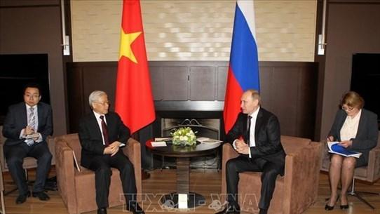 组图:越南-俄罗斯建交70周年:持续发展、面向未来的关系
