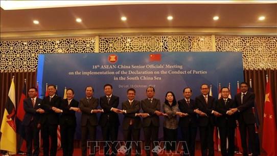 落实DOC的第18次东盟—中国高官会在林同省举行