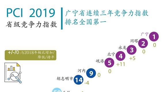 图表新闻:越南发布2019年省级竞争力指数