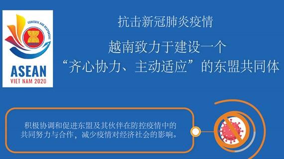 """图表新闻:越南致力于建设一个""""齐心协力、主动适应""""的东盟共同体"""
