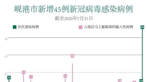 图表新闻:新冠肺炎疫情:岘港市新增45例社区感染病例