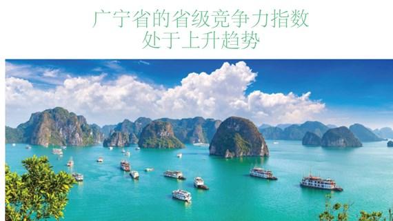 图表新闻:广宁省的升级竞争力指数处于上升趋势