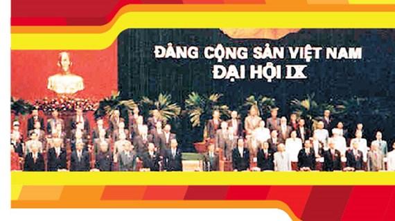 图表新闻:越共第九次全国代表大会:国家迈入新世纪