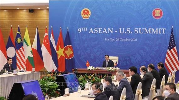 越南政府总理范明政提议加强东盟与美国关系