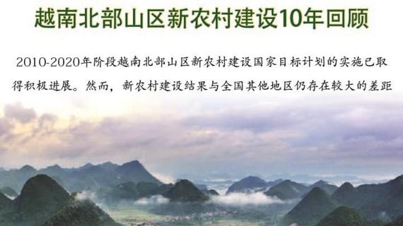 图表新闻:越南北部山区新农村建设10年回顾