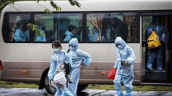 越南新增3例新冠肺炎确诊病例 入境后立即接受隔离