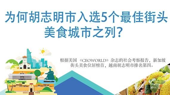 图表新闻:为何胡志明市入选五个最佳街头美食城市之列?